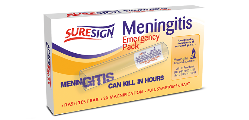 Suresign Meningitis Emergency Pack