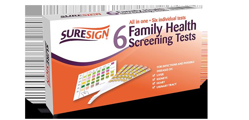 Suresign Family Health Screening Test
